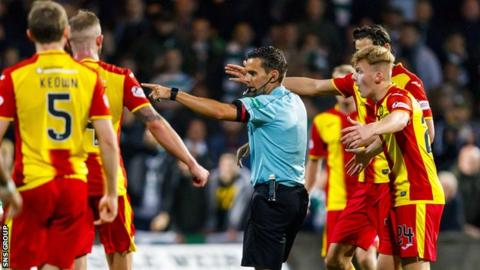 Partick Thistle are bottom of the table with just three points from nine games