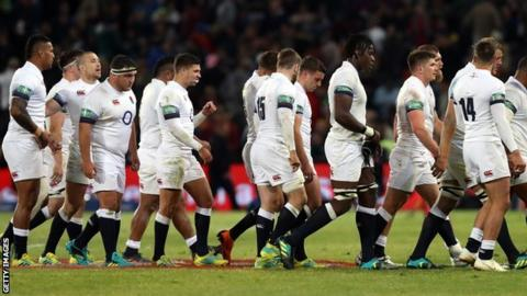 It was yet another dispiriting defeat for Eddie Jones' England