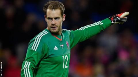 Owain Fon Williams made a substitute appearance for Wales against the Netherlands last week