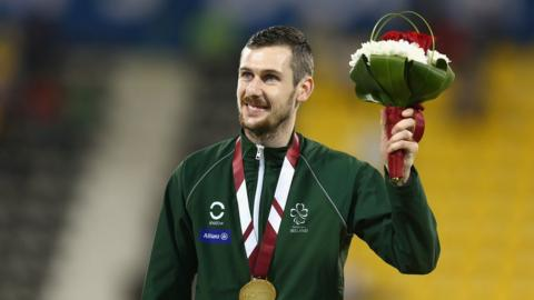Michael McKillop secured gold medals in the T38 800m and T37 1500m events at the IPC World Championships in Doha