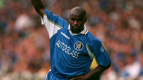 Frank Sinclair was an FA Cup winner with Chelsea in 1997