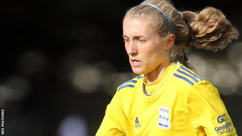 Emma Follis of Birmingham City