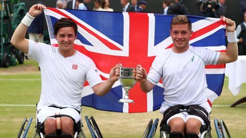 Gordon Reid & Alfie Hewett won the Wimbledon title last summer