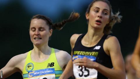 Mageean was 0.59 seconds behind Canadian winner Lindsey Butterworth
