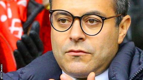 Leeds United chairman Andrea Radrizzani