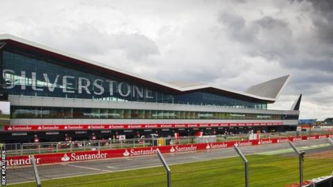 A view of the Silverstone wing complex