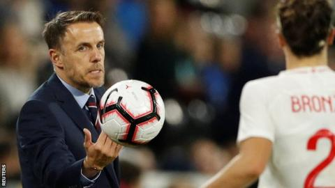 England manager Phil Neville