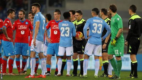 Lazio v Napoli