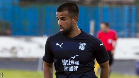Adil Nabi on trial with Dundee