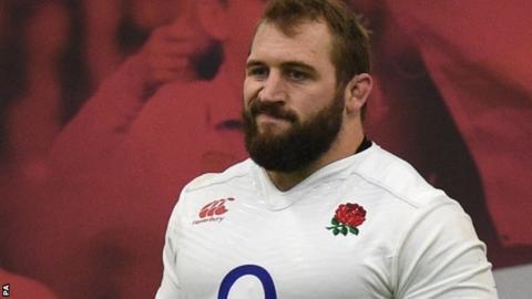 England's Joe Marler