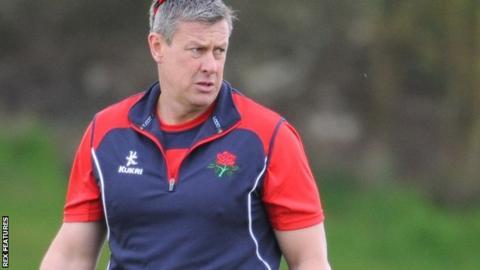 Lancashire head coach Ashley Giles