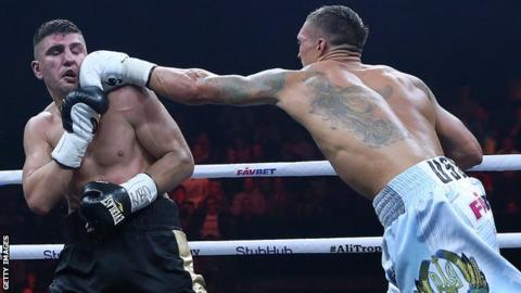 Oleksandr Usyk now progresses to the semi-finals of the new World Boxing Super Series