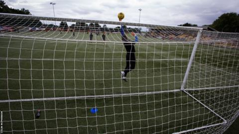 Edinburgh City goalkeeper Andrew Stobie