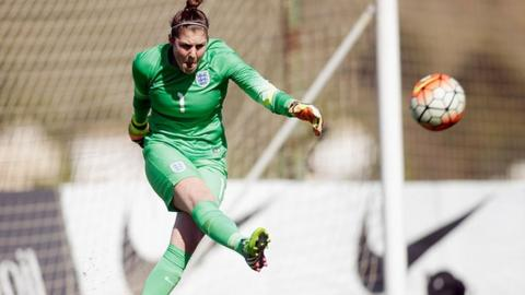 Reading Women goalkeeper Mary Earps has been capped by England at Under-17, Under-19 and Under-23 level