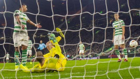 Celtic lost two poor goals