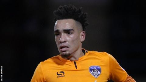 Kean Bryan plays for Oldham Athletic in League One in 2017-18.