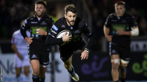 Tommy Seymour: Scotland wing extends deal at Glasgow Warriors