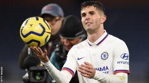 Lampard calls on Chelsea players to 'stand up' following Pulisic's 'nasty injury'