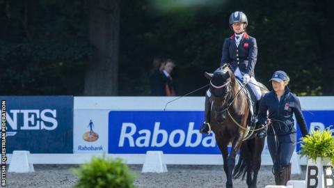 European Para-dressage Championships: Georgia Wilson wins gold in Rotterdam
