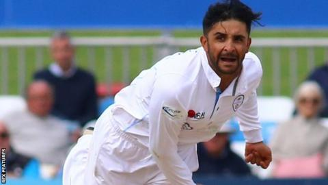 Hamidullah Qadri has made 10 Championship appearances for Derbyshire, three List A games and one T20