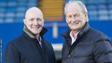 Alun Jones and Peter Thomas