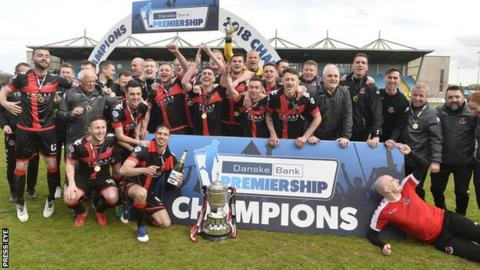 Crusaders were crowned Premiership champions for the third time in four seasons in April
