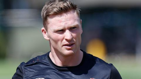 Chris Ashton at an England training camp