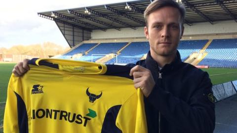 Todd Kane joins Oxford United on loan