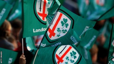 London Irish flag