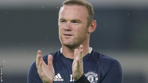 Manchester United and England's Wayne Rooney