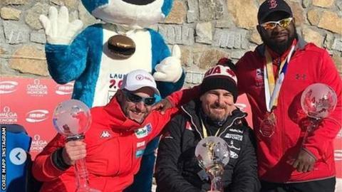 Andreas Kapfinger, Lonnie Bissonnette and Corie Mapp