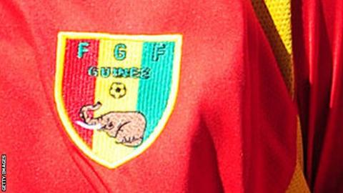 The Guinea Football Federation logo