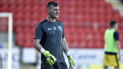 Conor Mitchell has joined St Johnstone on loan