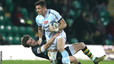 Dan Carter and Lee Dickson