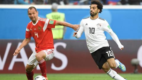 Russia 0-0 Egypt