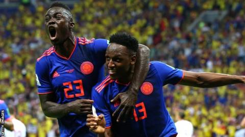 Livescore: Result of Senegal vs Colombia