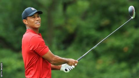 Tiger Woods says he is targeting the Tokyo Olympics as 'big goal'