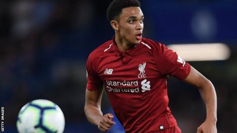 Liverpool's Trent Alexander-Arnold