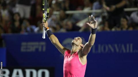 Rafael Nadal calls Acapulco title an 'important moment'