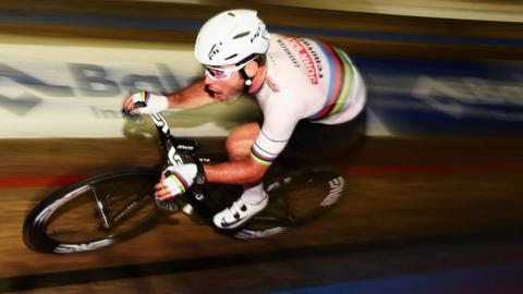 Mark Cavendish: Sprinter to partner Olympic winner Owain Doull at London Six Day