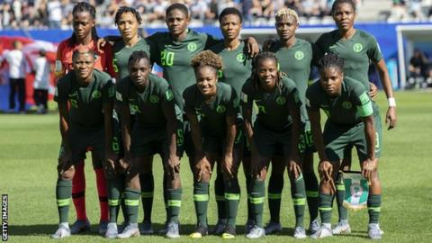 Nigeria's women's team