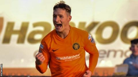 Jerry Thompson: Carrick Rangers player dies aged 24