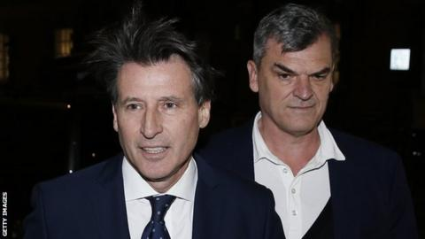 Lord Coe and Nick Davies