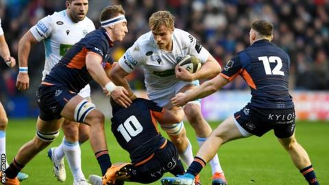 Finn Russell Gray is expected to follow Scotland teammate Stuart Hogg to Sandy Park