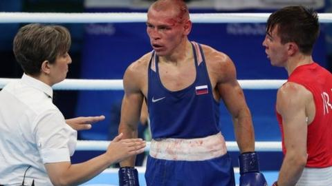 Nikitin's victory over Conlan (right) came in for widespread criticism