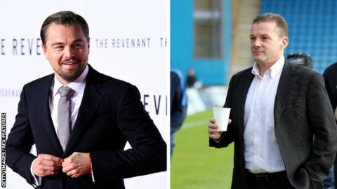 Leonardo DiCaprio and Graham Westley
