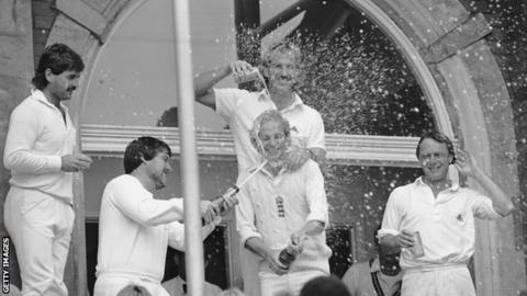 England win the Ashes in 1985