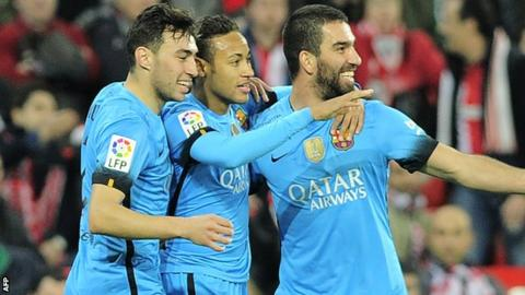 Barcelona visit Malaga in La Liga on Saturday