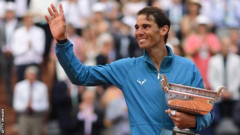 Rafael Nadal wins French Open in 2018