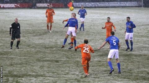Football postponements: Weekend schedule affected by winter